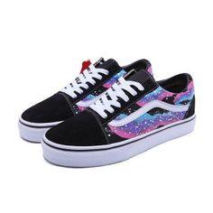 0800c6ea05 Vans Galaxy Old Skool Shoes Mens Womens Classic Canvas Sneakers