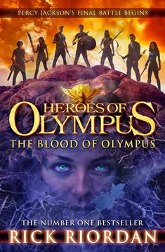 UK cover for the blood of olympus