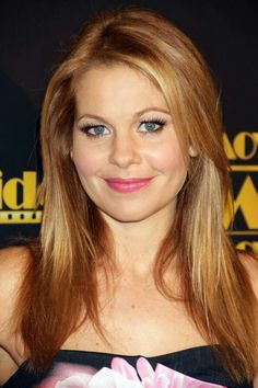 Candace Cameron Bure on the style trend that her daughter now wears. Candice Cameron Bure, Candance Cameron, Dj Tanner, World Most Beautiful Woman, Beautiful Women, Red Hair Don't Care, Strawberry Blonde Hair, Beautiful Long Hair, Full House
