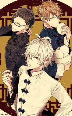 けるく (@krk_klop) さんの漫画 | 33作目 | ツイコミ(仮) Manga Anime, Boys Anime, Hot Anime Guys, Anime Group, Handsome Anime Guys, Rap Battle, Cute Anime Couples, Manga Illustration, Anime Artwork
