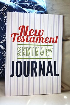 A great idea for Seminary! I wish we had these for my kids when they were in Seminary!
