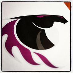 Messing around with a new sports logo today. #logodesign #sports #mustang