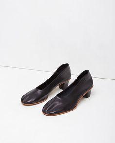 Martiniano | High Heeled Glove Slipper | La Garçonne