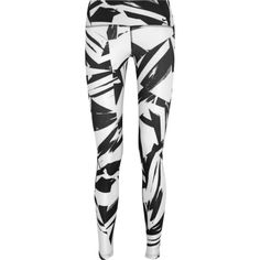 Nike Legend 2.0 printed stretch-jersey leggings, White, Women's, Size:... ($35) ❤ liked on Polyvore