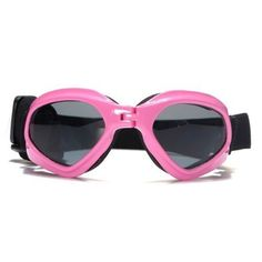 NO:1 Fashionable Waterproof Pet Dog Doggles Sunglasses Eye UV Protection Goggles Pink >>> To view further, visit…