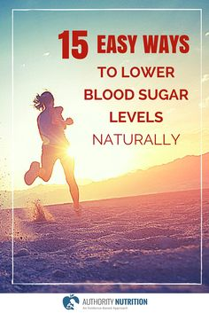 Having high blood sugar levels is an incredibly common problem. Here are 15 natural ways to lower your blood sugar levels: authoritynutritio. High Blood Sugar Levels, Blood Sugar Diet, Lower Blood Sugar, High Glucose Levels, A1c Levels, Diabetes Information, Prevent Diabetes, Beat Diabetes, Diabetes Care