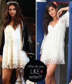 Deepika or Katrina- Who's your favorite? #Kapsons #CelebStyle #DeepikaPadukone #KatrinaKaif