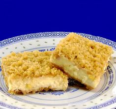Walnut Cheesecake Squares