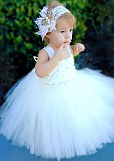 Little Princess Flower Girl Dress