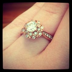 I think I found the perfect ring! The only thing I would change would be to add a mixed metal look to it.