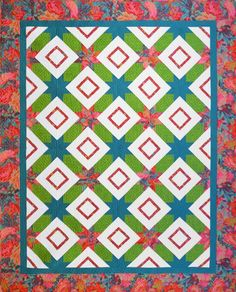 Browse unique items from SewOnTheGo on Etsy, a global marketplace of handmade, vintage and creative goods. Star Quilts, Quilt Blocks, Hunters Star Quilt, Quilting Designs, Quilt Design, Long Arm Quilting Machine, Border Pattern, Basic Shapes, Shirt Quilt