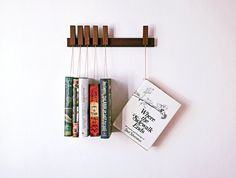 Cremagliera a libro in legno su misura in legno di di agustav