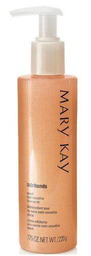 Mary Kay Satin Hands Peach Hand Scrub SUPER SIZE 7.75 oz. by MARY KAY. $20.00. Mary Kay satin hands peach satin smoothie hand scrub with pump.