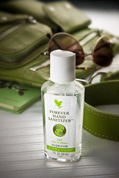 Forever Hand Sanitizer® with Aloe & Honey is designed to kill 99.99% of germs. The skin-soothing stabilized aloe and hydrating honey soften and moisturize as it cleans – not to mention its pleasing scent of lemon and lavender.