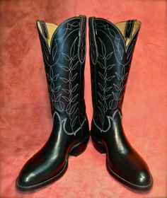 Love these classics from maestro Michael Wayne Brooks Custom Cowboy Boots - a kind and talented fellow, glad to know him