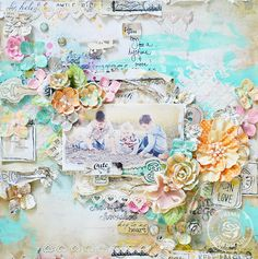 Key to My Heart *Prima Lifetime Collection* - Scrapbook.com