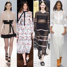 London Fashion Week Trends Spring 2016 | POPSUGAR Fashion