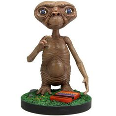 Buy E. Extreme Headknocker at Mighty Ape NZ. This is an all new Resin Bobble Head to celebrate the Anniversary of this worldwide blockbuster film, ET. Et The Extra Terrestrial, Mighty Ape, Star Citizen, 30th Anniversary, Bobble Head, New Toys, Transformers, Pop Culture, Action Figures