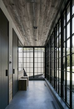 Interior of MG2 House, Quebec   Alain Carle Architects   est living