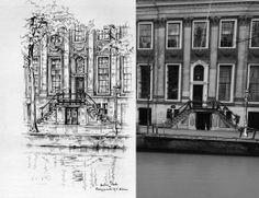Keizersgracht 476, Amsterdam Anton Pieck, Amsterdam Art, Louvre, Abstract, Artwork, Travel, Hu Ge, Kunst, Summary