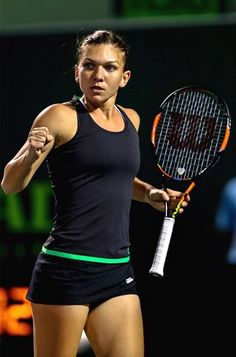 One of the most important things that you will ever hear when you are playing tennis is to keep your eyes on the ball. Wta Tennis, Sport Tennis, French Open, Wimbledon, Simona Halep, Tennis World, Tennis Players Female, Girls Golf, Tennis Tips