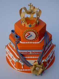 Dutch Queen's Day Cake