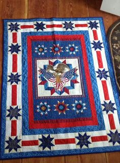 Red,White & Blue Quilt