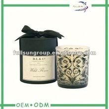 round candle packaging
