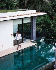 Villa 16 - 4 Bedroom - Samujana Villas, Koh Samui - Book Now Koh Samui, Tropical Garden, Villa, Bangkok, Outdoor Decor, Couple, Home, Design, House