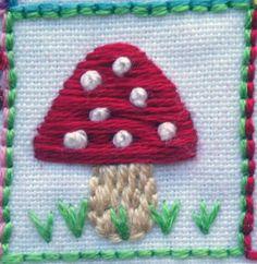 39 Squares - Mushroom-Suzitee by suzitee, via Flickr