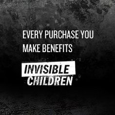This is a website that sells books. Every sale goes to help the Invisible Children campaign. If you want to buy a book please, they need your support a lot more than amazon or Barnes and Noble.