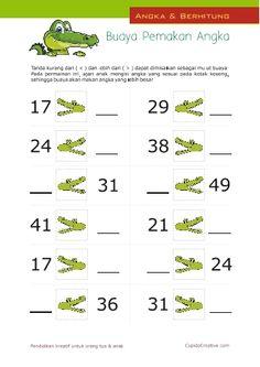 Belajar Anak - Buaya Pemakan Angka 8