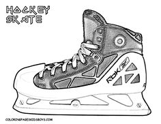 Hockey Coloring Book - http://fullcoloring.com/hockey-coloring-book.html