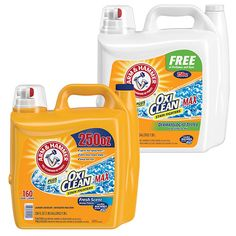 Arm And Hammer Laundry Detergent Free And Clear - Homemade Laundry Detergent Costco Coupons, Homemade Laundry Detergent, Improve Yourself, Arm, Cleaning, Bottle, Homemade Washing Powder, Arms, Flask