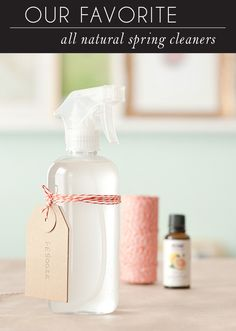 Our Favorite All-Natural Cleaners