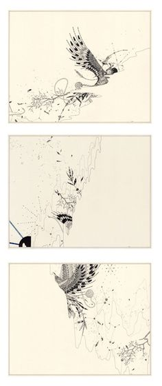 ERNESTO CAIVANO http://www.widewalls.ch/artist/ernesto-caivano/ #drawing