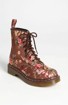 Dr. Martens '8-Eye Victorian Flowers' Boot | Nordstrom