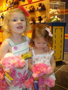 Our Little family: Build A Bear Birthday Party