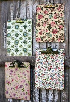 clipbord   ideen für serviettentechnik mit servietten mit pinken und lila blumen