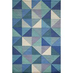 Corrigan Studio Carmel Hand Tufted Blue Area Rug & Reviews | Wayfair