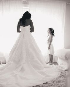 fabulous vancouver wedding The Bride and the flower girl. #wedding #weddings #vancity #vancitywed #vancouver #vancouverbride #vancouverweddingphotographer #black&white #moments by @flipvisionproductions  #vancityweddings #vancouverflorist #vancouverwedding #vancouverwedding