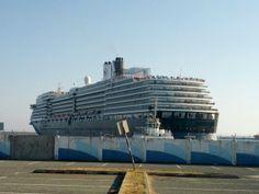 #travel Cruise ship departing Limassol, Cyprus