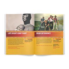 Galway Comedy Festival brochure spread