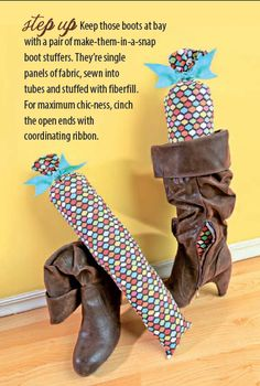 DIY Boot Stuffers!
