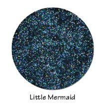 Little Mermaid and Aquamarine Glitter Gorgeous Lips from Mermaid Minerals