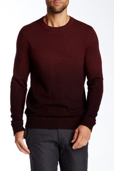 Dip Dye Crew Neck Sweater by VINCE. on @HauteLook