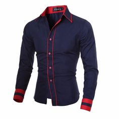http://www.ebay.com/itm/MenS-Cuff-Striped-Long-Sleeved-Shirt-Male-Camisa-Masculina-Casual-Slim-Chemise-/222279599543