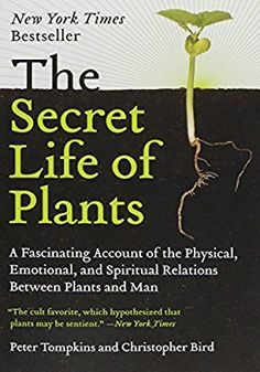 The Secret Life of Plants: a Fascinating Account of the Physical, Emotional, and Spiritual Relations Between Plants and Man: Peter Tompkins, Christopher Bird I Love Books, Books To Read, My Books, Reading Lists, Book Lists, Reading Room, Secret Life Of Plants, Mind Reading Tricks, Thing 1