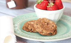 Breakfast Cookies (free of grains, gluten, dairy, eggs, refined sugars) ... Ingredients include: bananas, applesauce, shortening, dates, coconut flour, cinnamon, vanilla, baking soda, lemon juice, shredded coconut, dried apricots, dired currants, raisins.