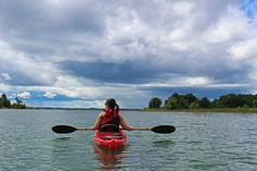 We went kayaking in the 1000 Islands region of Ontario, Canada. We discovered and explored many natural areas only accessible by small boat.